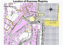 Location of Guernsey Registry office